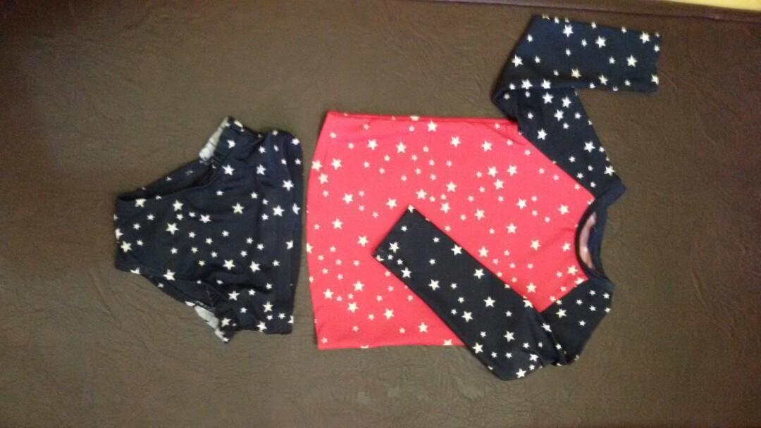 #1111special 3 set swimwear + swim diaper (take all)