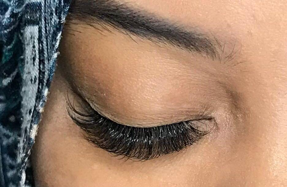 6D Camellia Eyelash Extensions 1st Trial