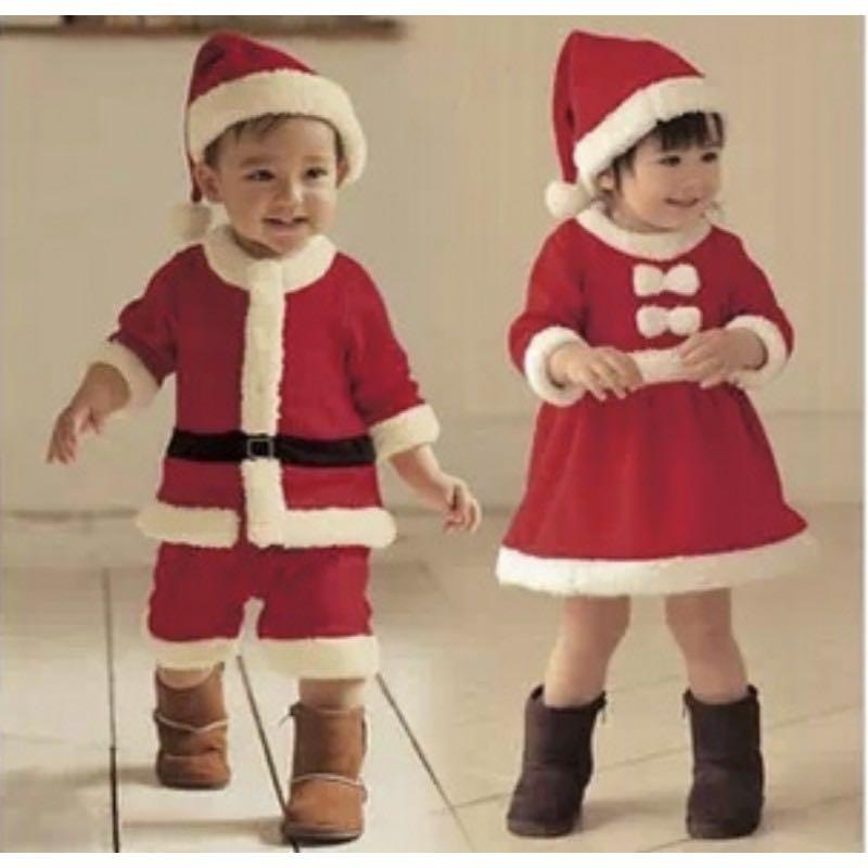 小童聖誕老人服裝