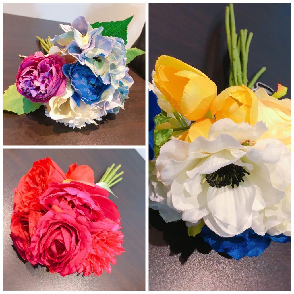 絲花花球花束裝飾 婚禮佈置 家居擺設Franc Franc