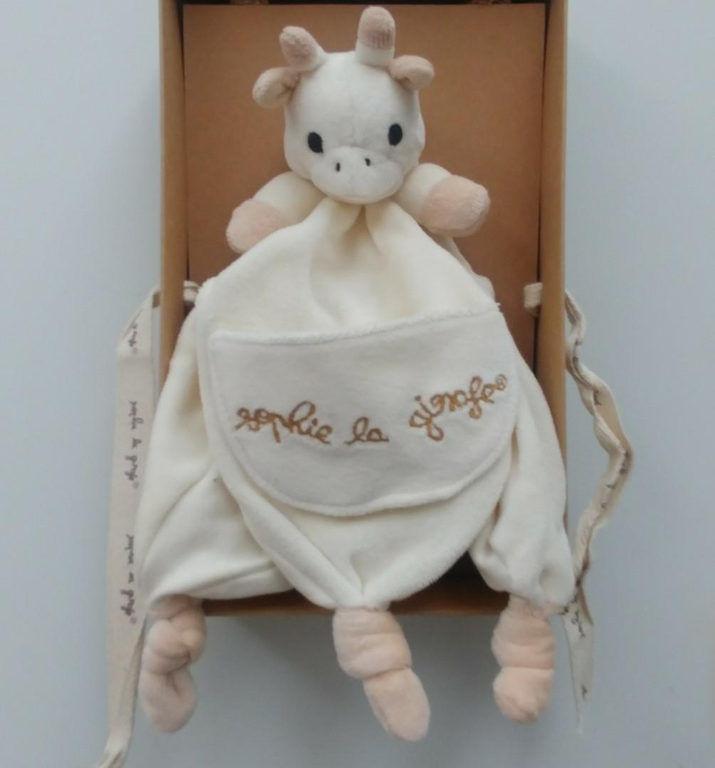 🈹 sophie la girafe 長頸鹿 法國品牌公仔安撫巾 原廠清貨 咬咬巾 BB嬰兒小朋友 新生禮盒 baby kids toys