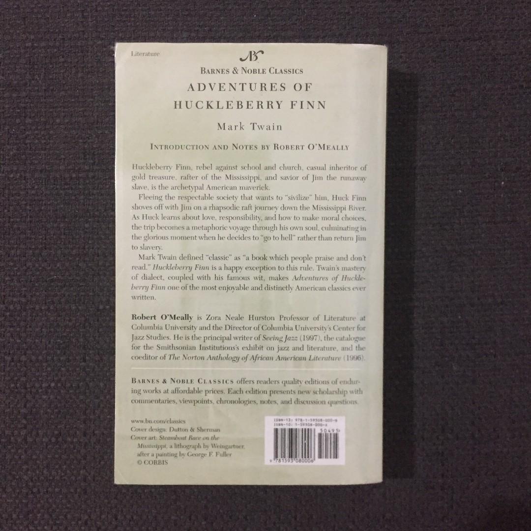 Adventures of Huckleberry Finn (Mark Twain), Barnes & Noble Classics, Paperback