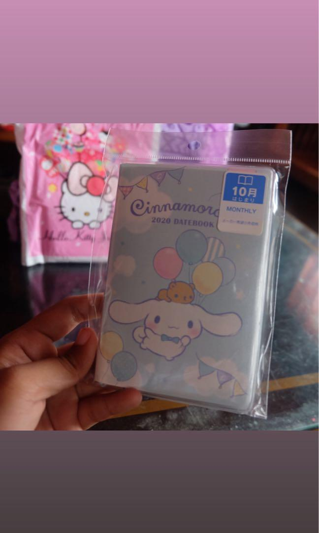 Authentic Cinnamoroll Sanrio Date Book 2020 Schedule Planner Pocket from Sanrio Store in Japan 🇯🇵
