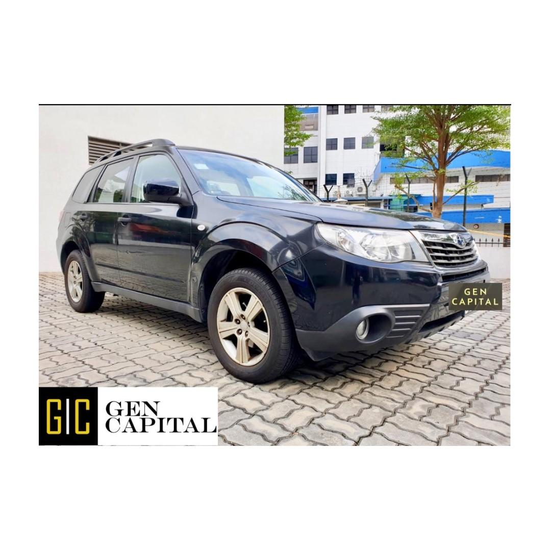 BLACK Subaru Forester - Cheapest rates, full support! Anytime ! Any day! Your Decision!!