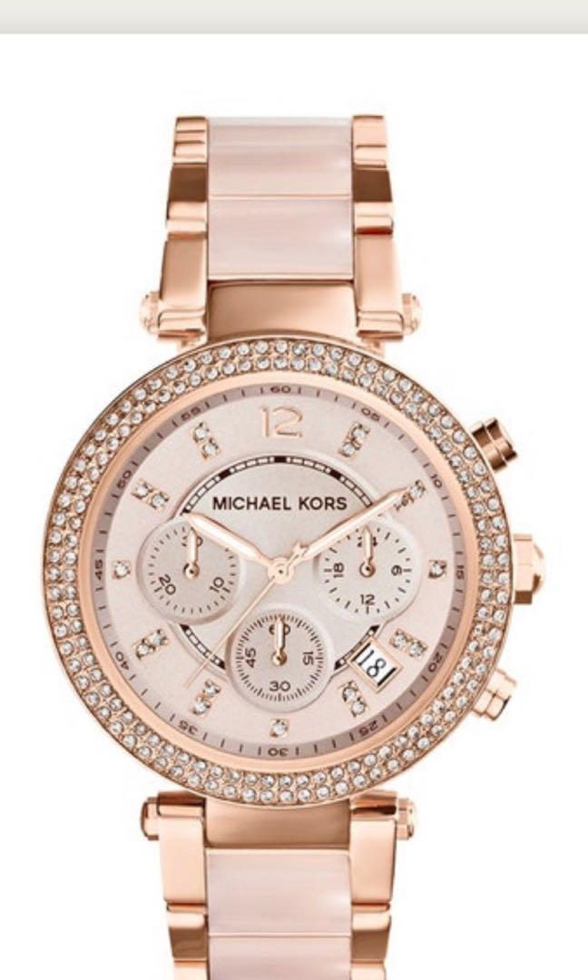 Brand New Michael Kors Parker Ladies Watch retail $499  down to $