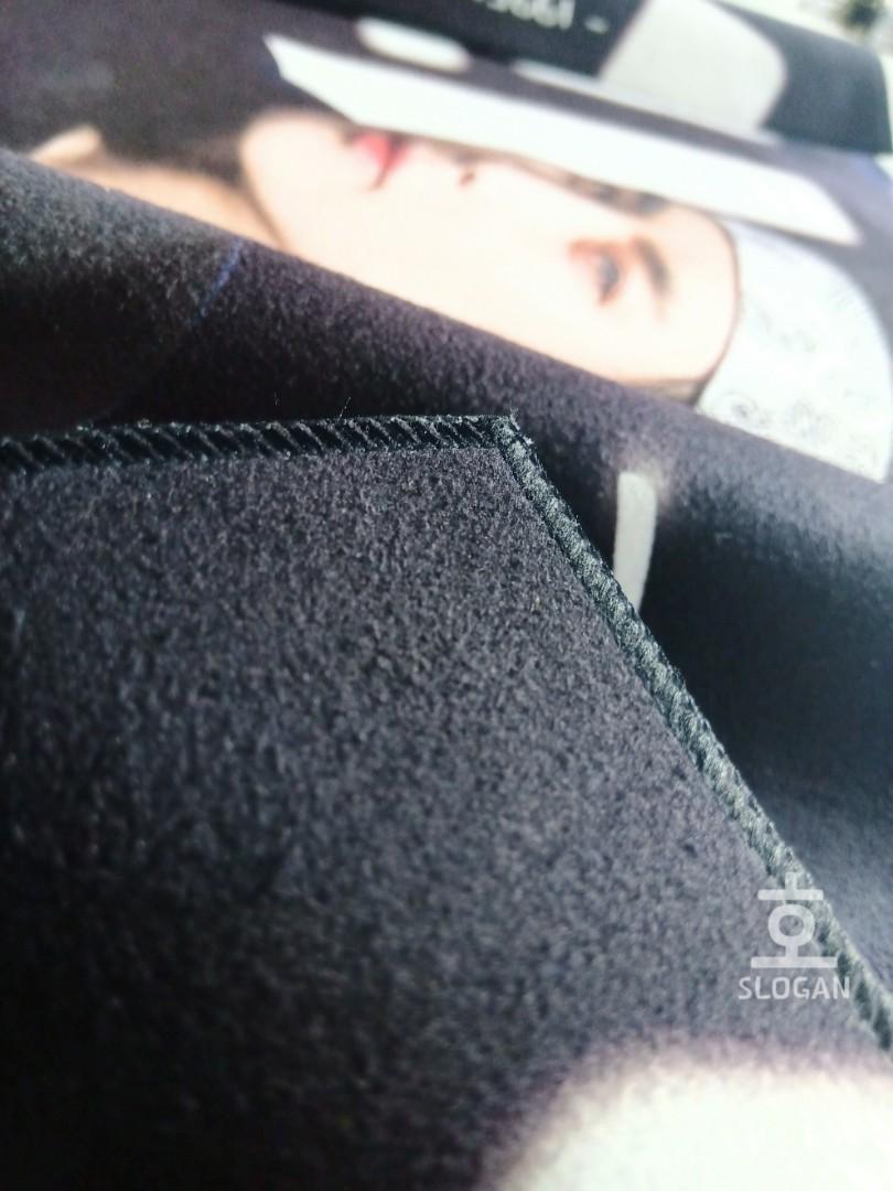 BTS - V Taehyung Reflective Slogan 韩站绒质反光手幅 防弹少年团 金泰亨