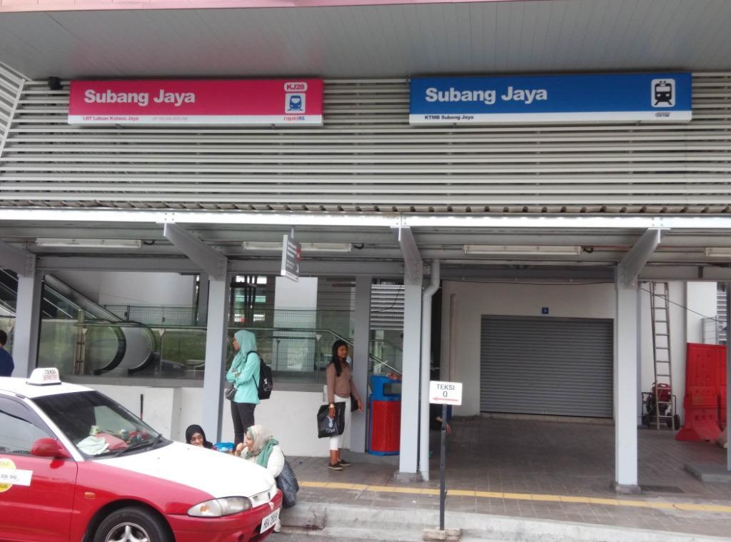 CAR PARK rent LRT KTM at Casa Tiara Subang Jaya | access card 24 hours Security patrol SECURED Carpark
