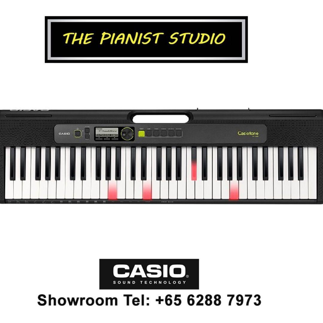Casio Tech Show 14-17 Nov @ Suntec | Casio LK-S250 Portable Lighting Piano Keyboard