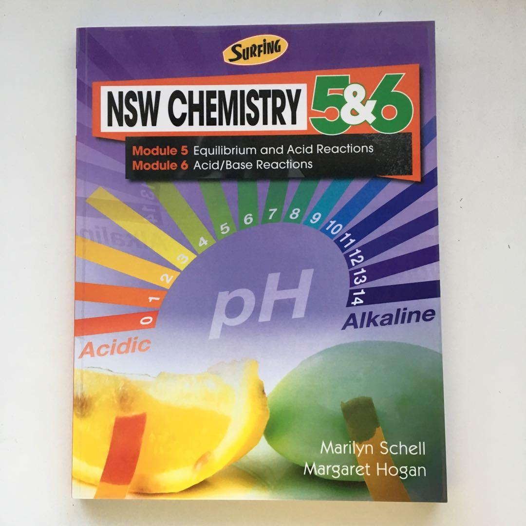 CHEMISTRY SURFING PRELIM AND HSC TEXTBOOKS - NEW SYLLABUS