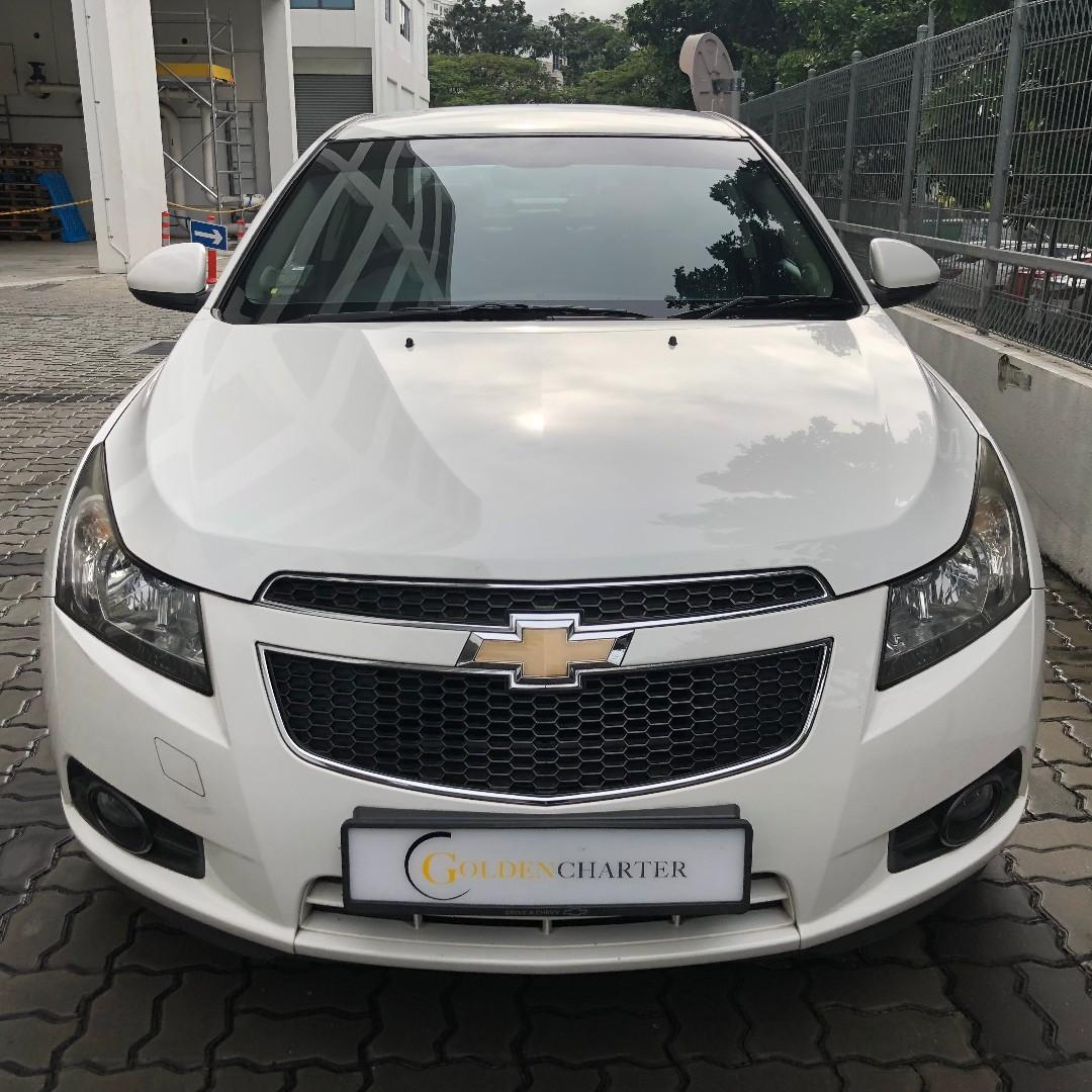 Chevrolet Cruze Rental For Personal / PHV Ready. Gojek weekly rebate available. Grab | Gojek | Tada | Personal | Rent | PHV