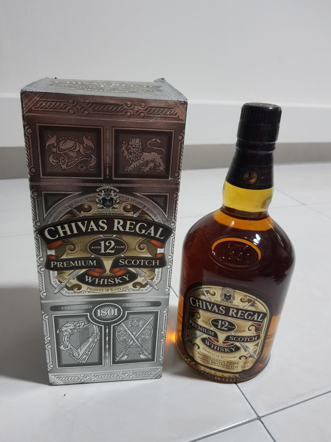 Chivas Regal 12 Years (Not the new version)