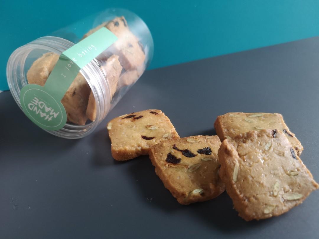 Cookies Raspberry/ Chocolate/Nuts