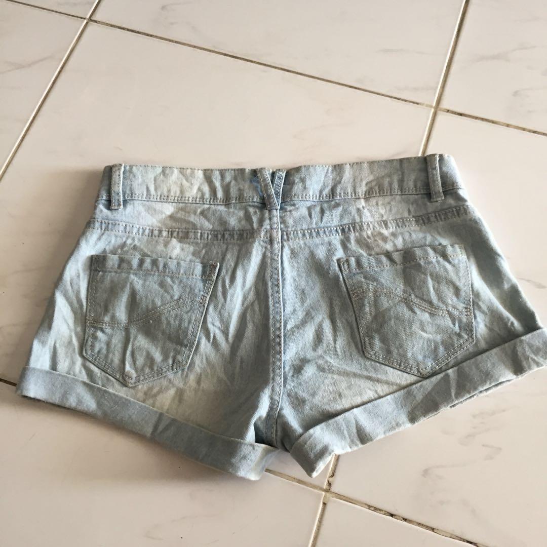 DENIM CO SHORTS PANTS