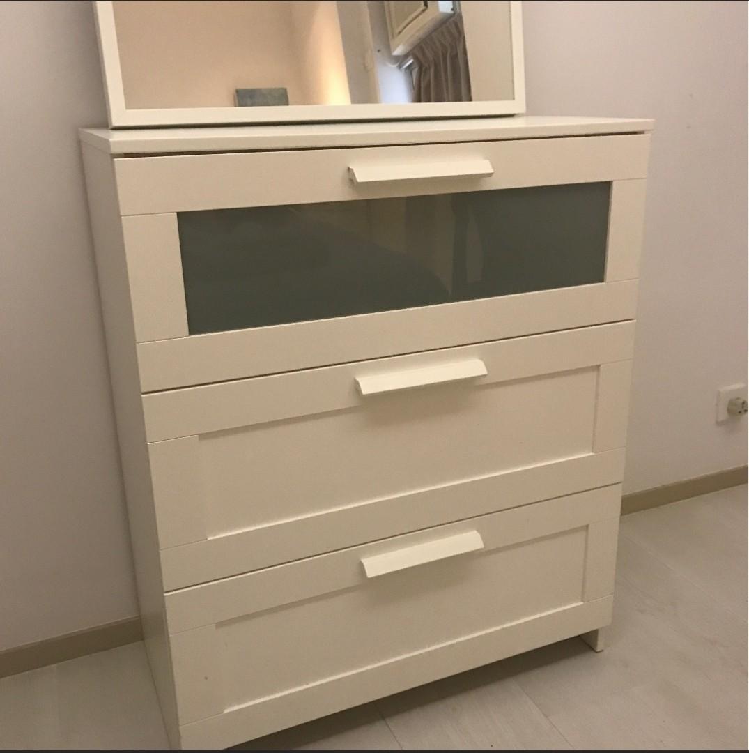Drawer/ Dresser/ Cabinet/ Ikea Brimines