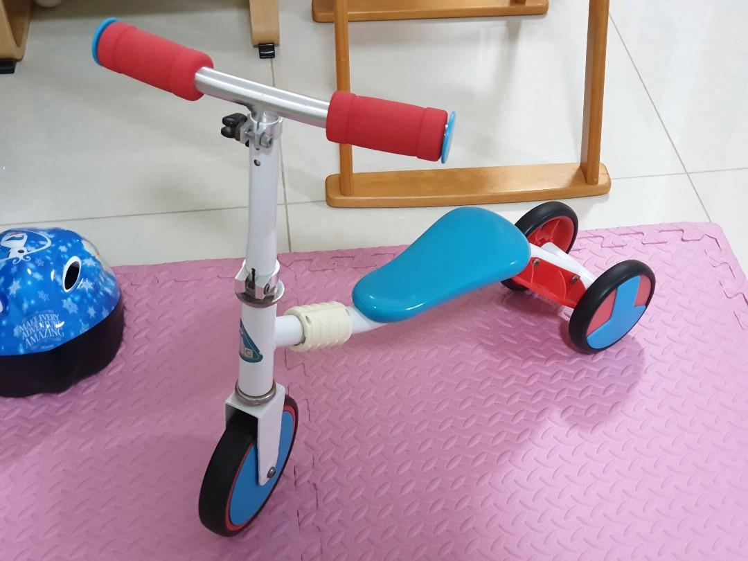 ELC 2 in 1 Trike Scooter