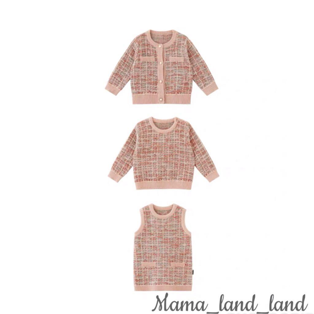 Elegant baby knit 🧶 sweater / cardigan / vest (3 version)