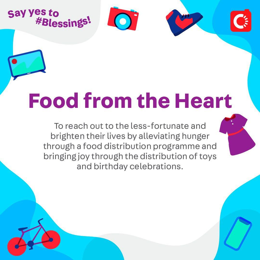 Food from the Heart is looking for...