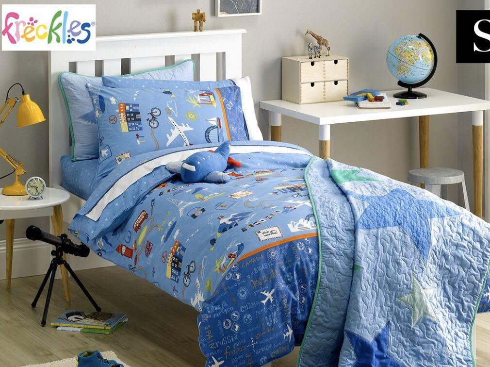 Freckles bedding single size