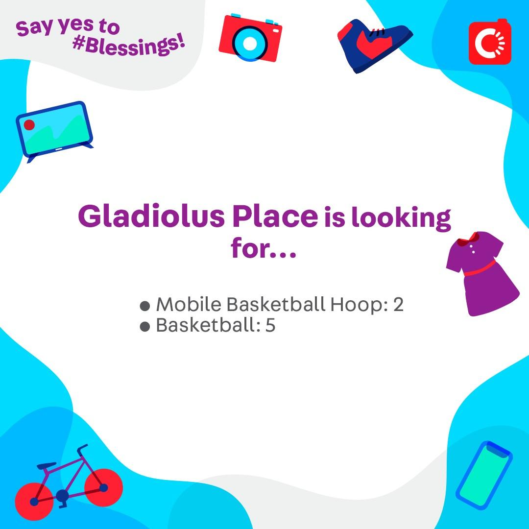 Gladiolus Place is looking for...