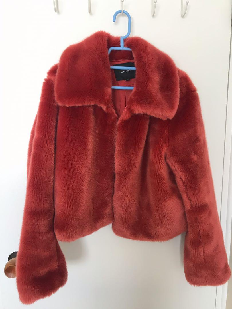 Glassons faux fur coat