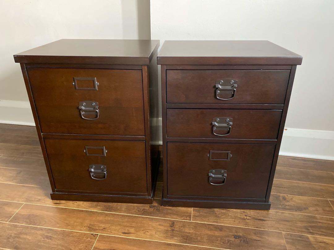 Gorgeous Executive Desk and matching cabinet & chair