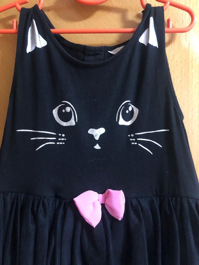 H & M 女童連身裙