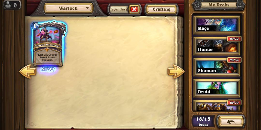 hearthstone acc toys games video gaming in game products on carousell carousell