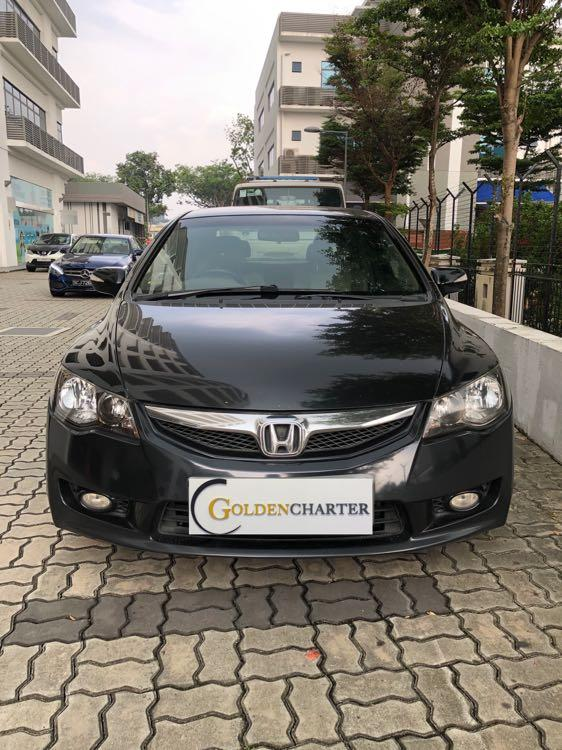 Honda Civic Hybrid For Rent! Personal/PHV ready, Gojek rebate weekly available