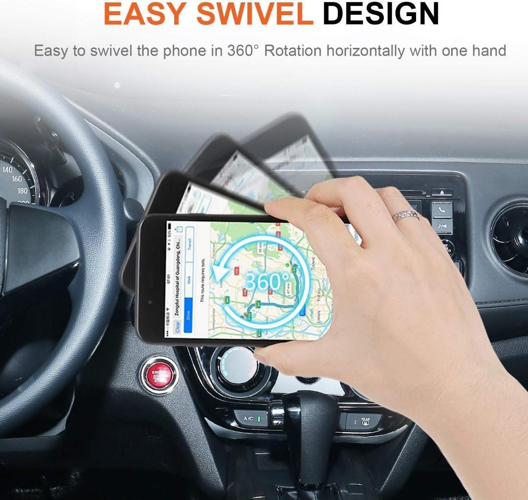 iVoler Car Phone Holder, [2 pack