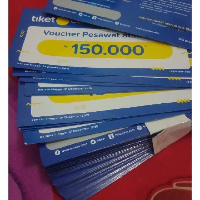 Jual Voucher Potongan Tiket.com