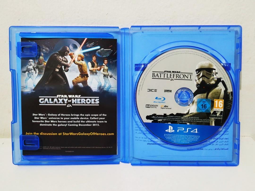 Kaset PS4 STARWARS BATTLEFRONT