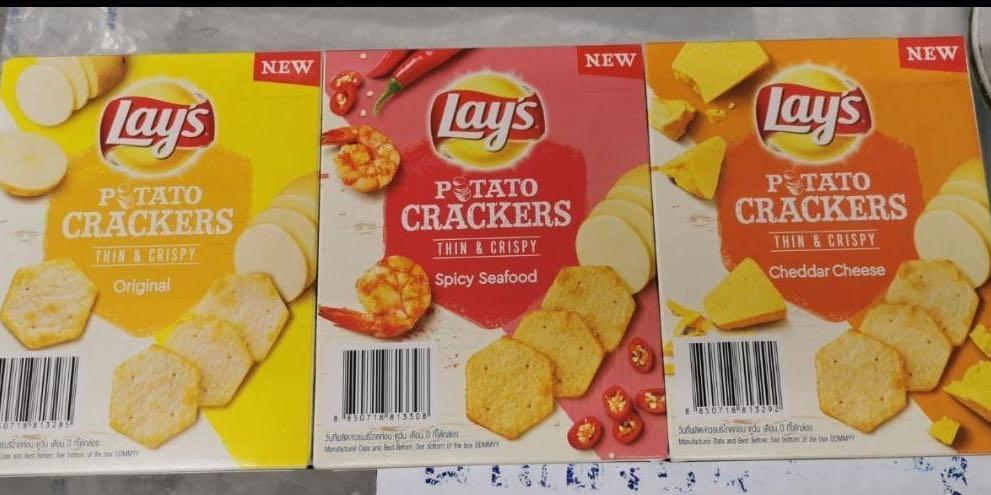 Lays Potato Crackers