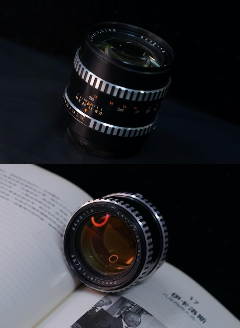Legendary Carl Zeiss Pancolar 55mm f1.4 (can use for Sony)