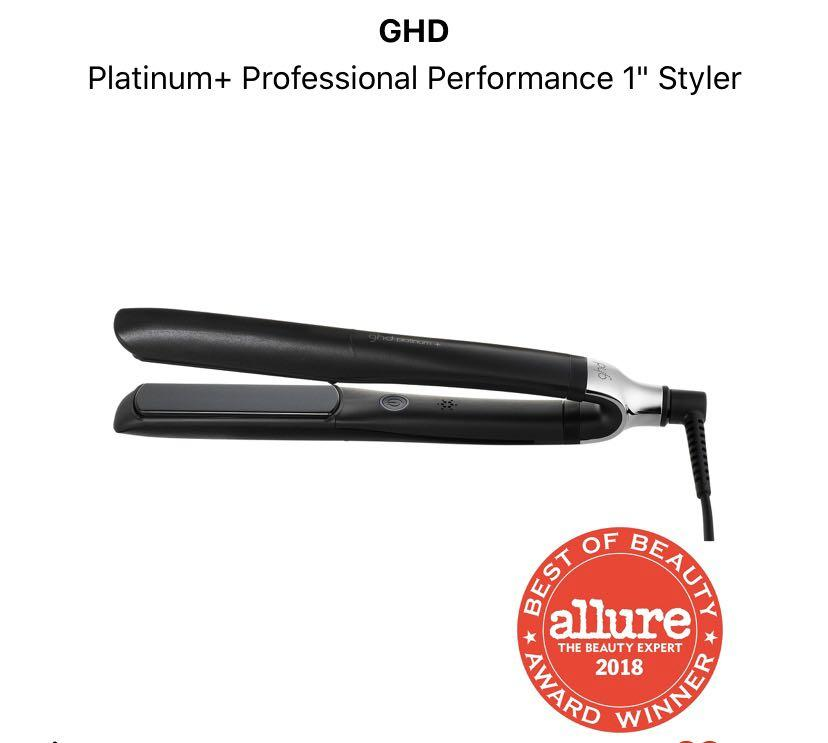 Looking for GHD platinum straightener!