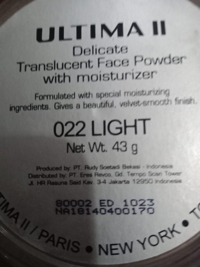 Loose powder Ultima Translucent ORI
