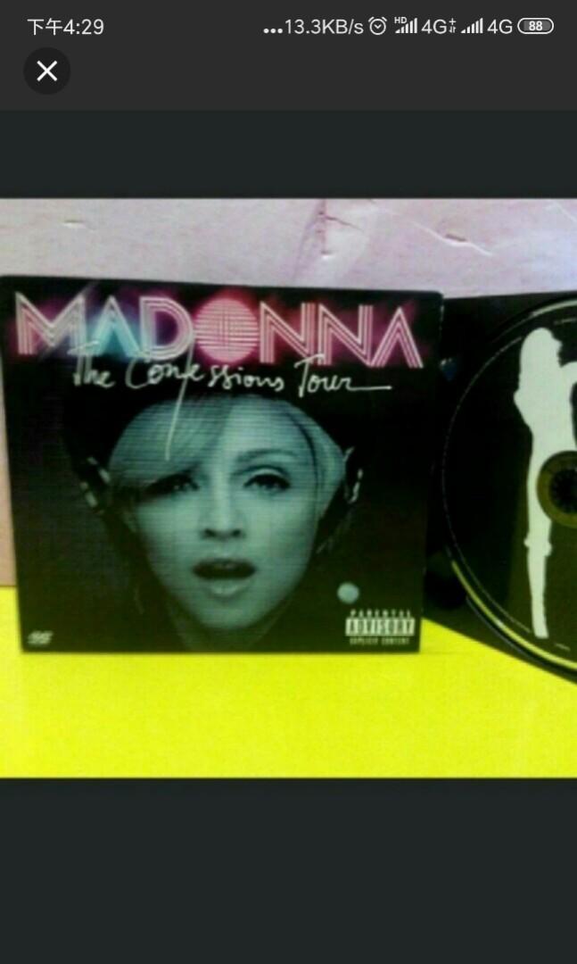 MADONNA,1CD+1DVD,