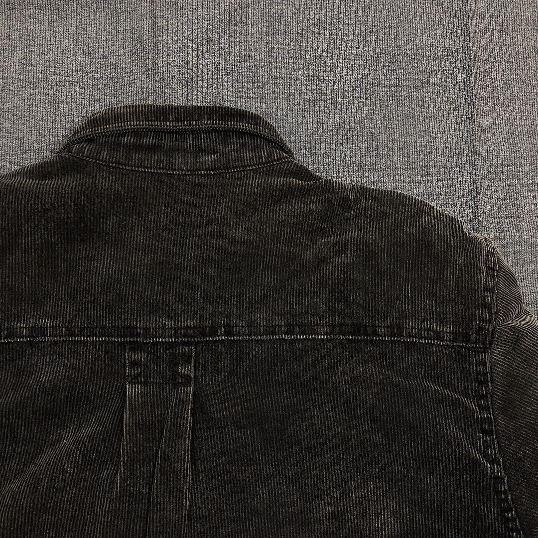 Marlboro Classics 古著黑灰燈芯絨外套(XL)