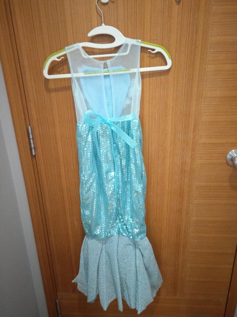 Mermaid costume dress little girl children princess