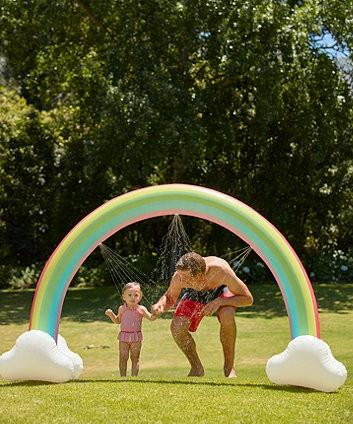 Mothercare & ELC Toys Fair - Rainbow Arch Sprinkler  (outdoor play)
