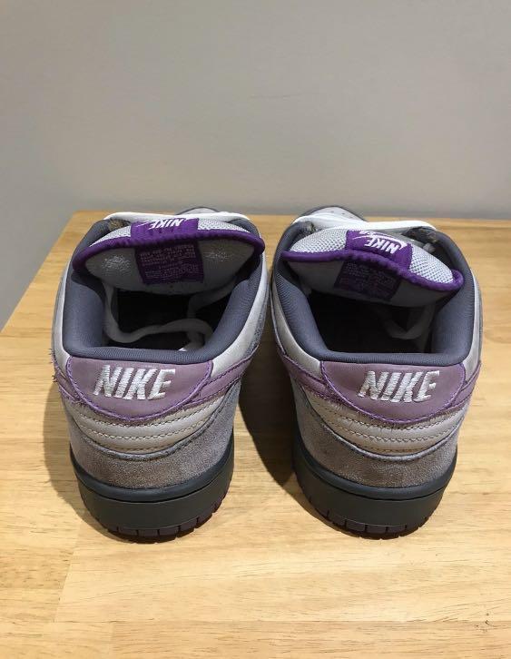 Nike dunk low an purple pigeon us11