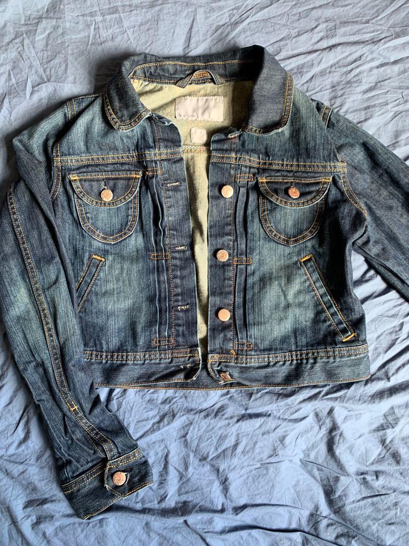 Old Navy crop Jean-jacket (SizeM)