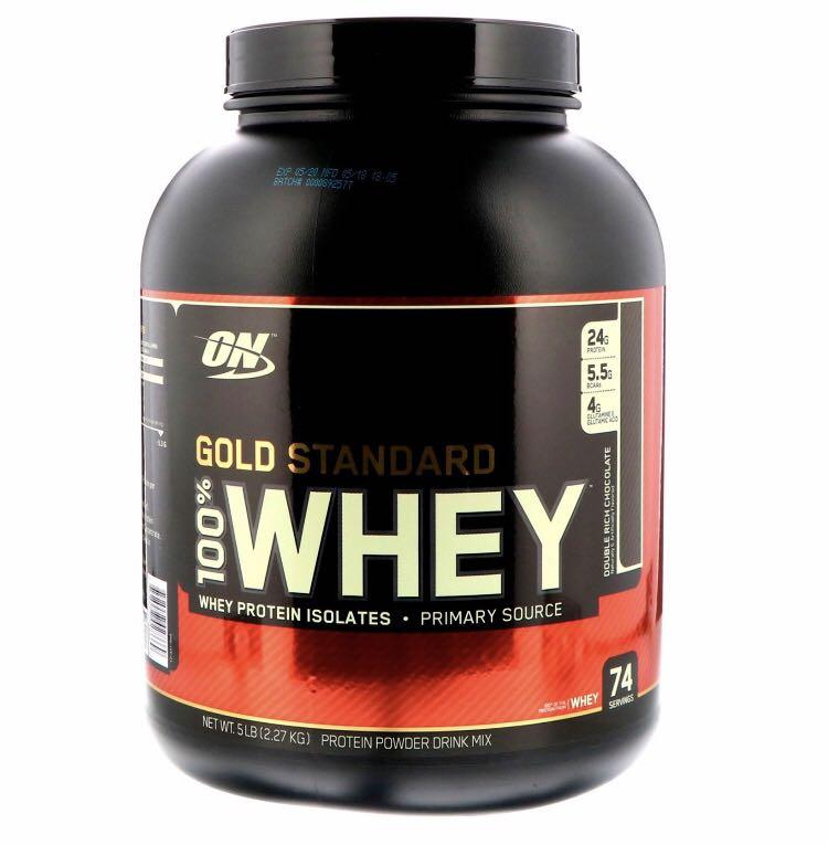 Optimum Nutrition, Gold Standard, 100% Whey, 5lb