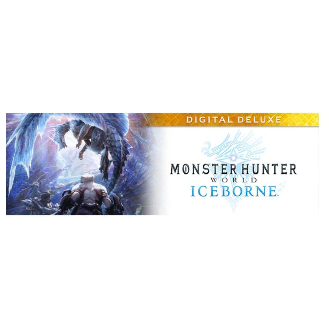 (PC-STEAM) Monster Hunter World: Iceborne Digital Deluxe (Pre-Purchase: Release Date:10 Jan, 2020)