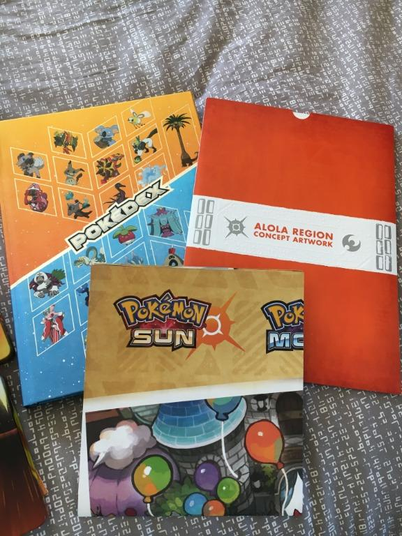 Pokemon Sun and Ultra Sun Collector's Editions + Extras