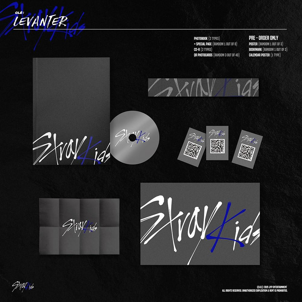 [PRE-ORDER] STRAY KIDS - CLE : LEVANTER CD [NORMAL ver.]