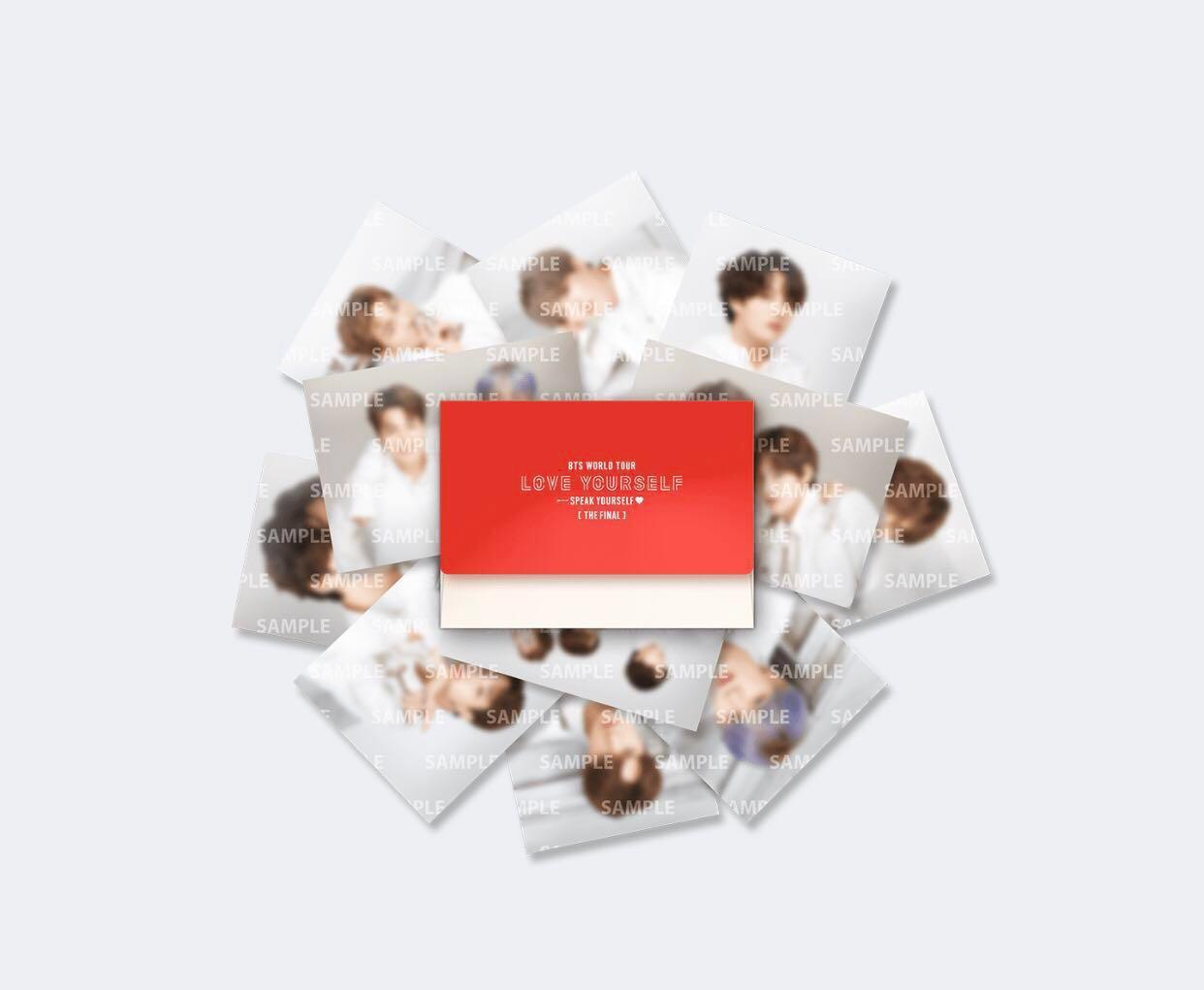 [READYSTOCK] BTS SPEAK YOURSELF FINAL MD Mini Photocards