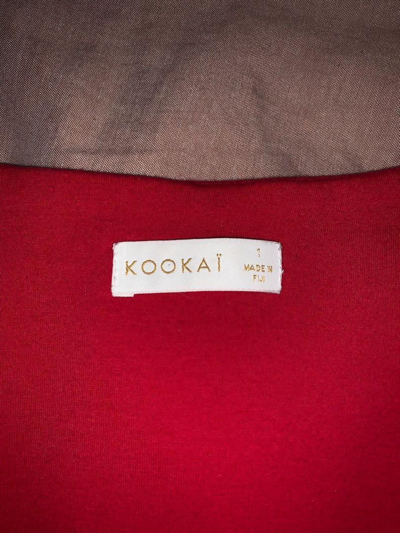 Red Kookai top
