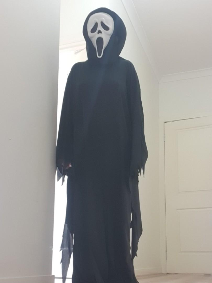 Scream mask costume muck up day scary ghost one size
