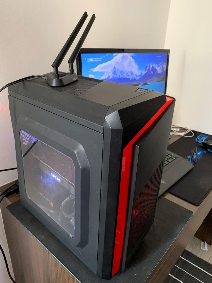 Selling my gaming pc I had for only 3 months FULL PACKAGE
