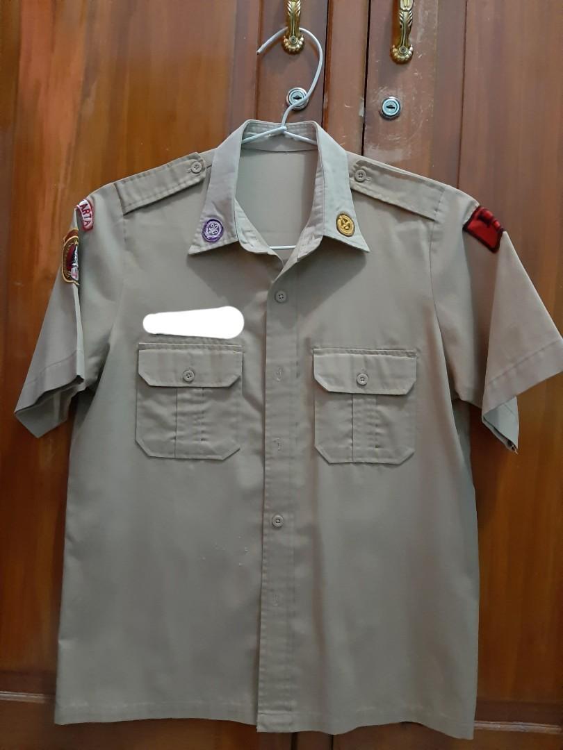 Atasan/Baju Seragam Pramuka Anak Perempuan SMP